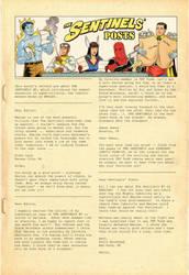 Sentinels Letter Column - Page 1