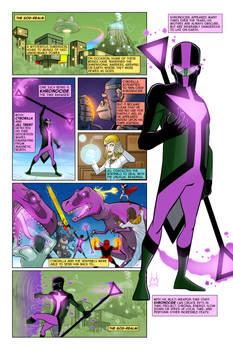 Khronocide Page by David Bednarski