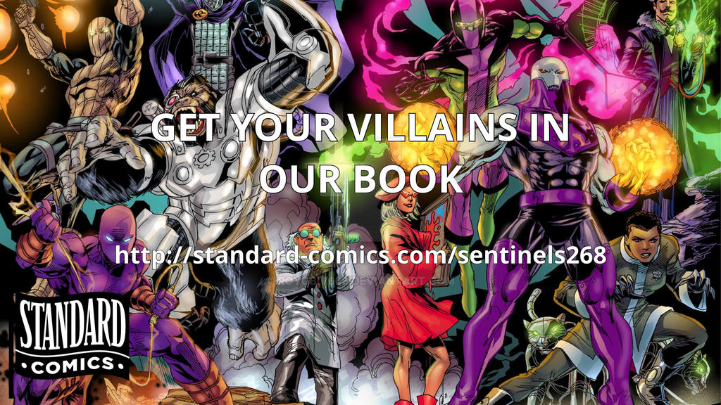 Sentinels #268 Villains by roygbiv666