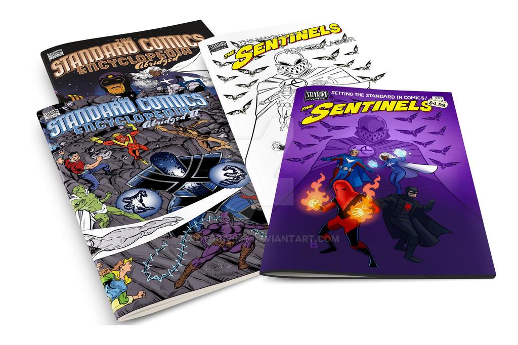 Comics, comics, comics by roygbiv666