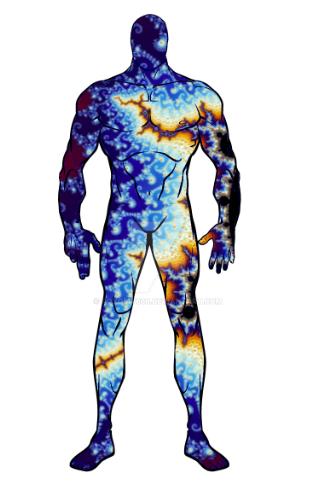 Fractal Man by roygbiv666