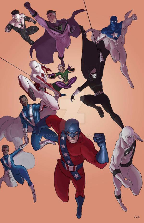 Various New Heroes by roygbiv666