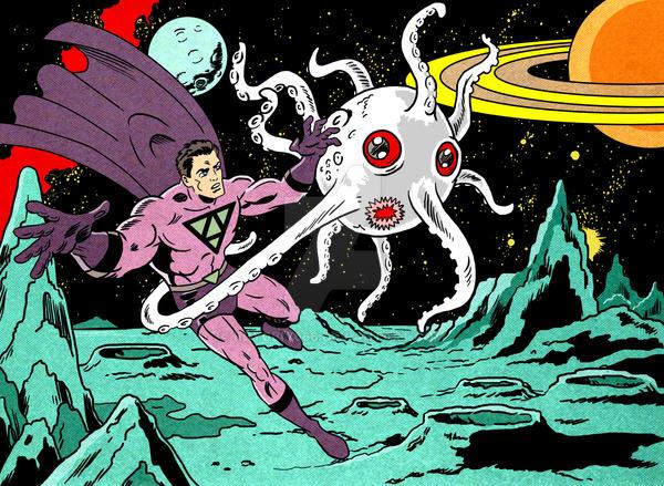 Hyperman vs Stellarmalum by roygbiv666