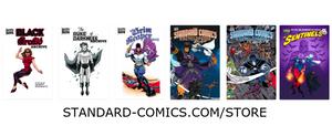 Standard Comics Store by roygbiv666