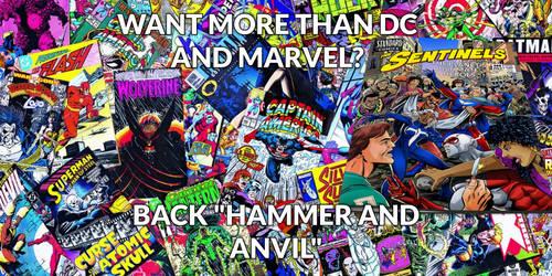 Hammer and Anvil Kickstarter by roygbiv666