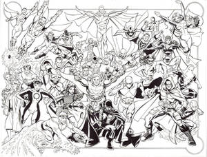 Standard Comics Universe Poster