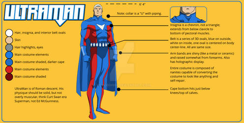 UltraMan Reference Sheet