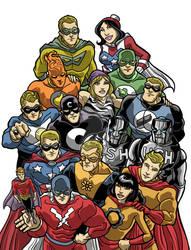 Archie Union of Super Heroes - Lee Gaston