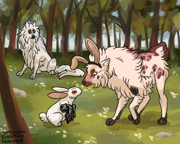[Tokota] Taming Raffle - Weird Rabbits