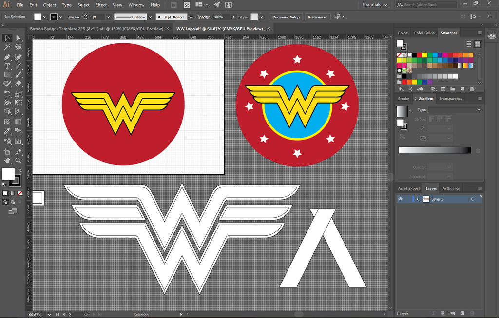 Wonder Woman Logo by Madmonkeylove