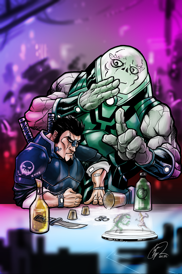 You've Spilled My Drink (Colored) by Madmonkeylove