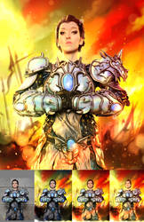 Bellona on Fire Process by Madmonkeylove