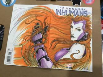 The Uncanny Inhumans by Madmonkeylove