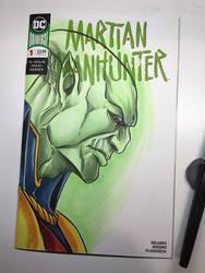 Martian Manhunter by Madmonkeylove