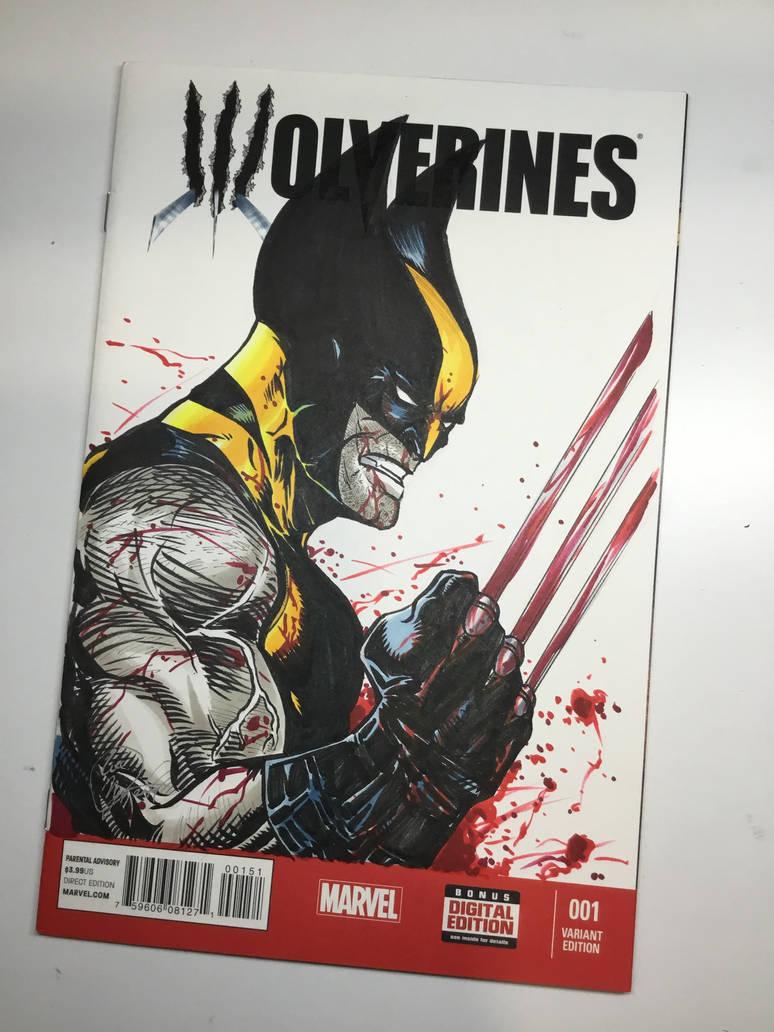 Wolverine by Madmonkeylove