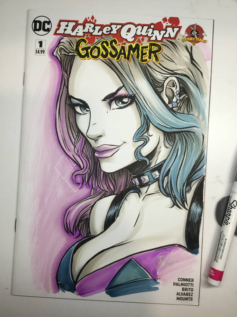 Harley Quinn Gossamer by Madmonkeylove