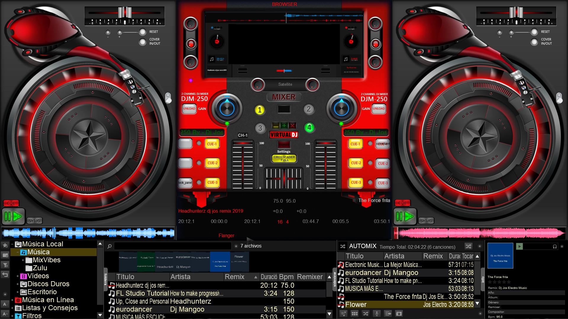 Free virtual dj skins pack