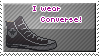 I wear converse! stamp by iFreak0ut