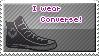 I wear converse! stamp by iFreak0ut
