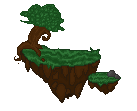 pixel floating island by iFreak0ut