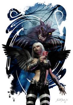 Necrotic Angel + White Rabbit by Graver