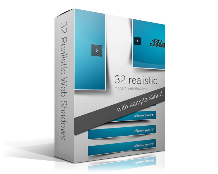 30 Realistic Modern Web Shadow by watracz