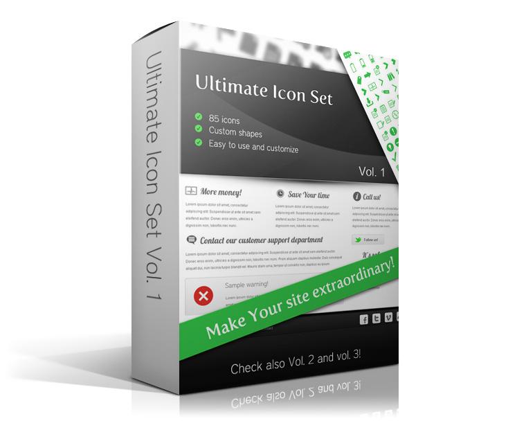 Ultimate Icon Set Vol. 1 by watracz