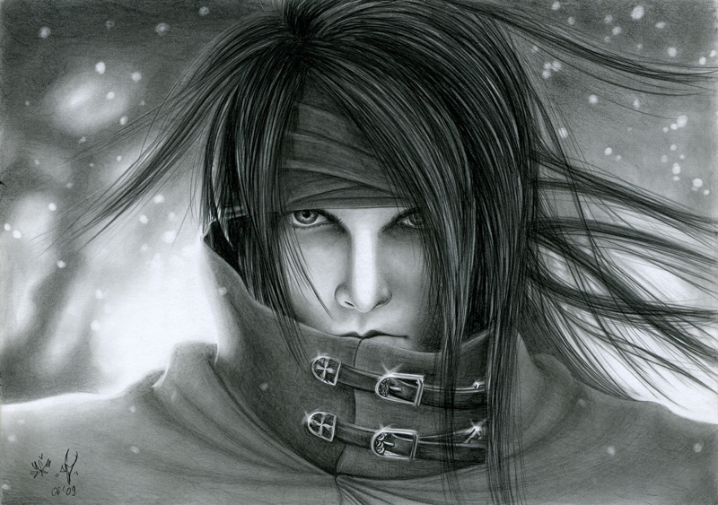 vincent from final fantasy vii by watracz on deviantart