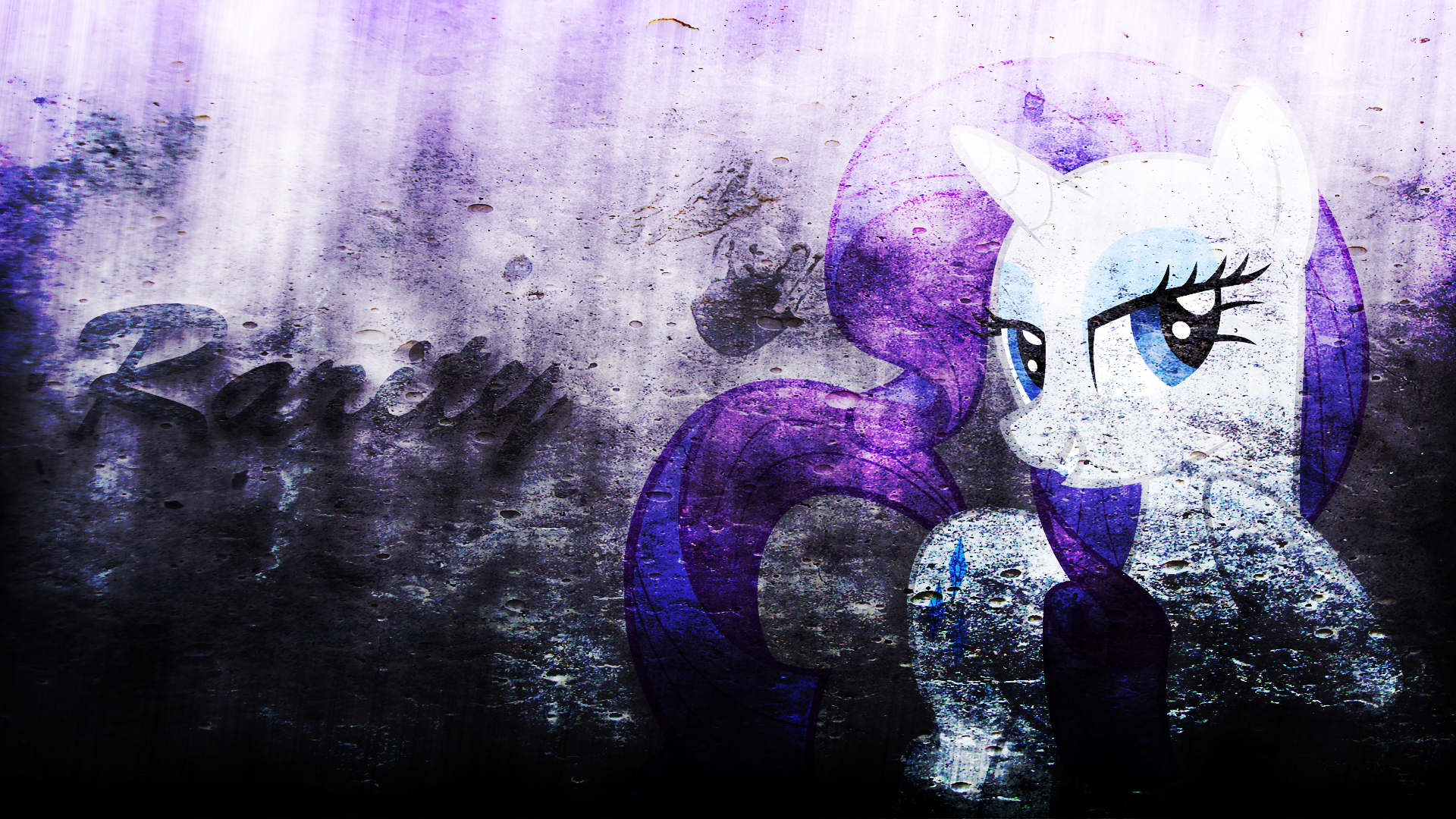 Rarity Wallpaper by Izeer