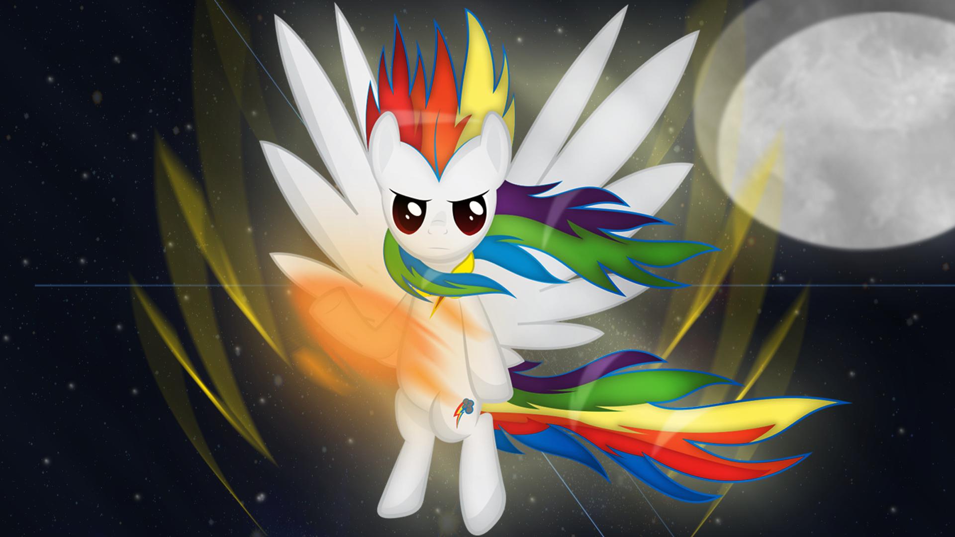 Super Rainbow Dash by Izeer