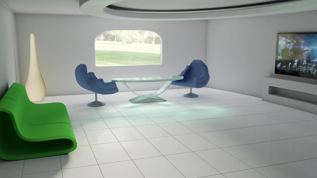 3D room by Izeer