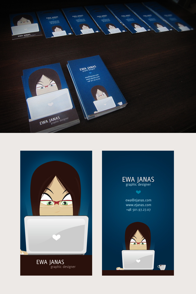 My business card by Funialstwo