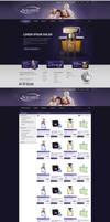 Aquarel - e-commerce webdesign