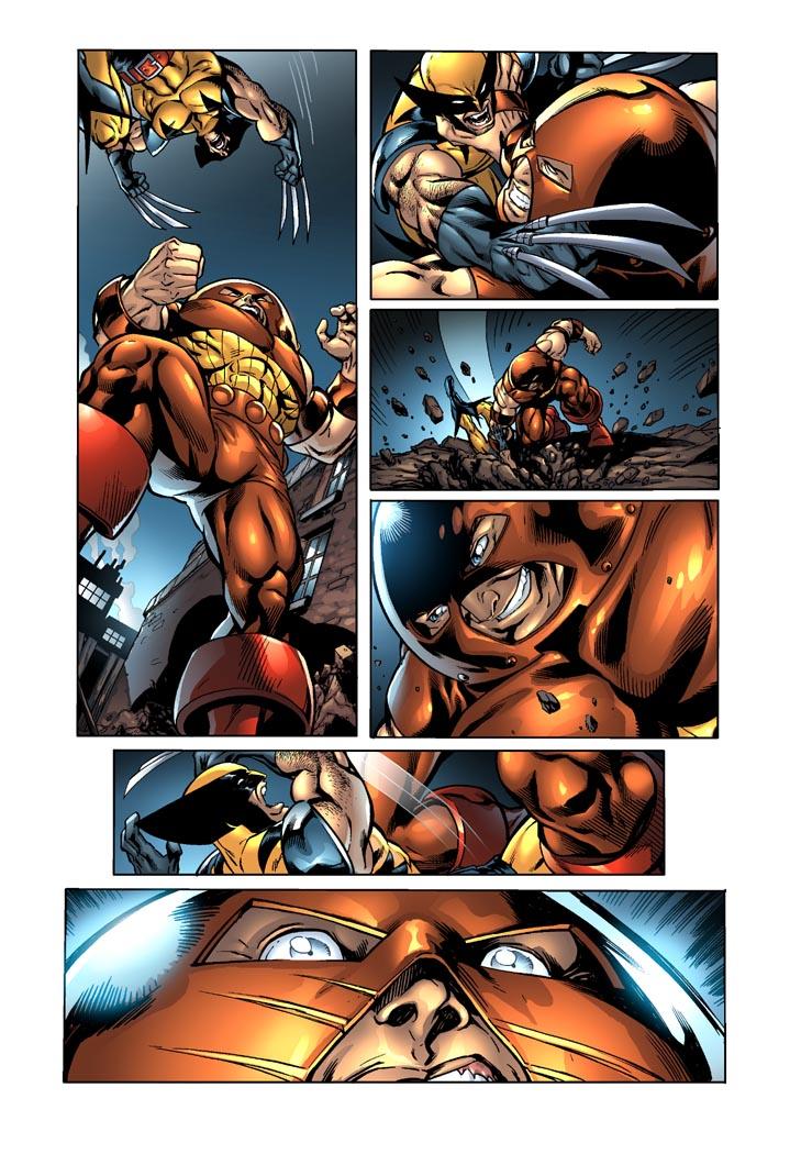 Wolverine vs Juggernaught