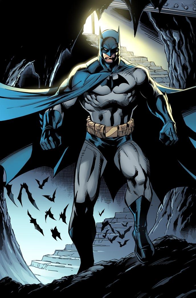 New Batman color