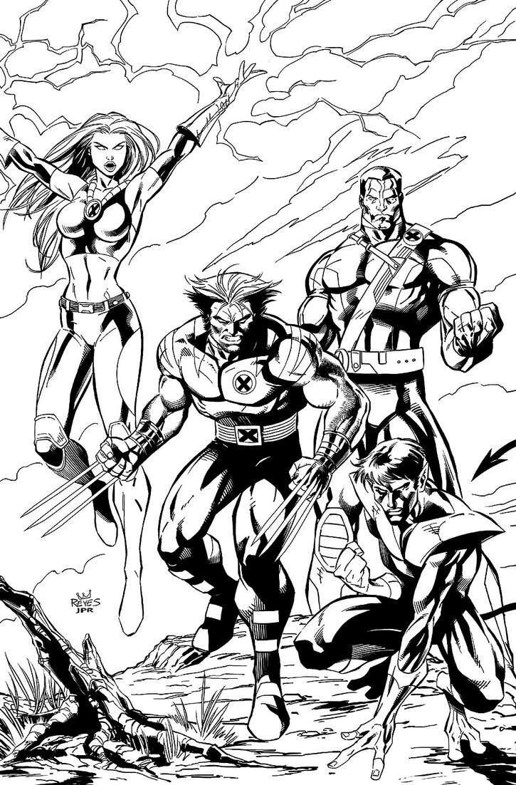 ultimate x men ink by jpr04 on deviantart
