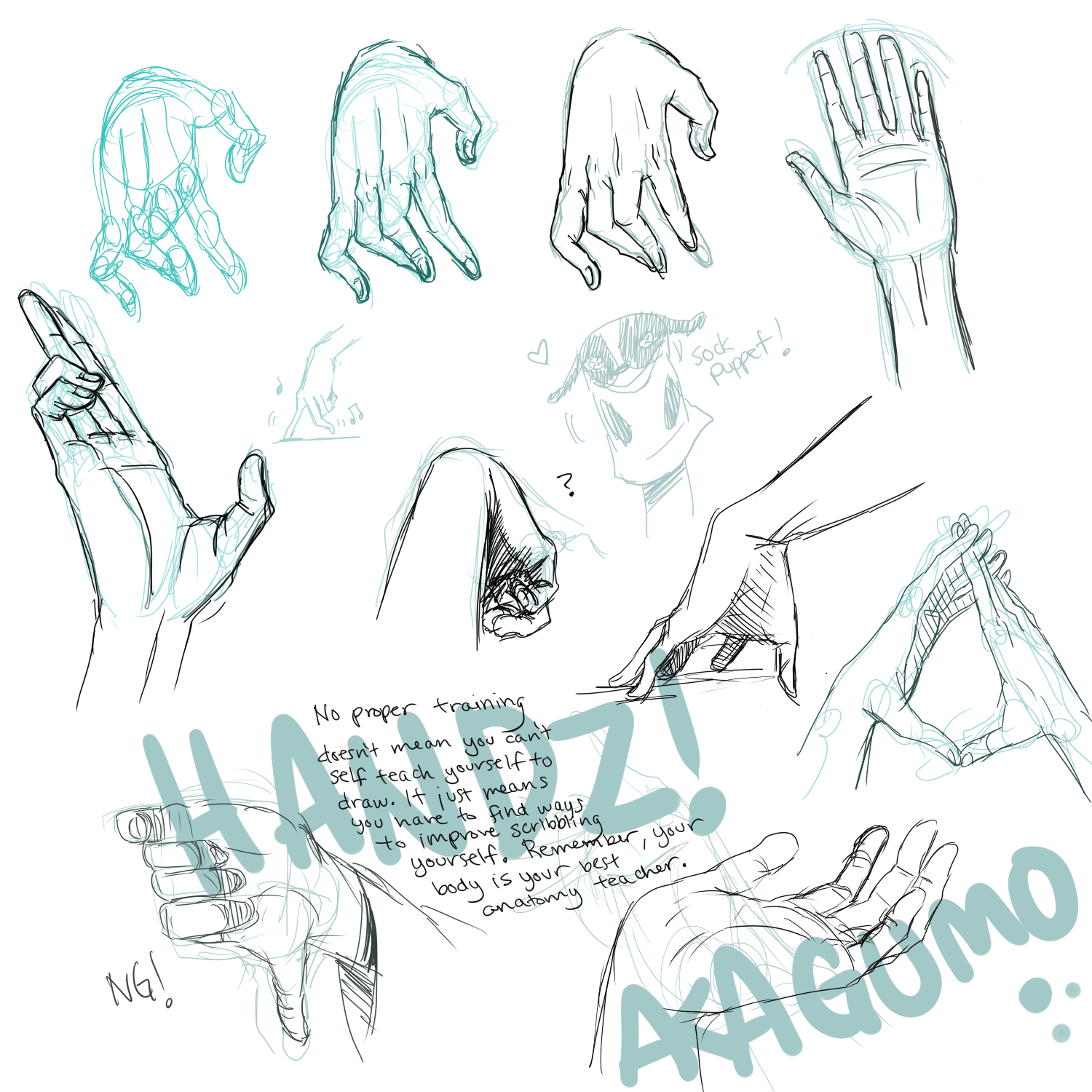 Hand Reference by Akagumo on DeviantArt