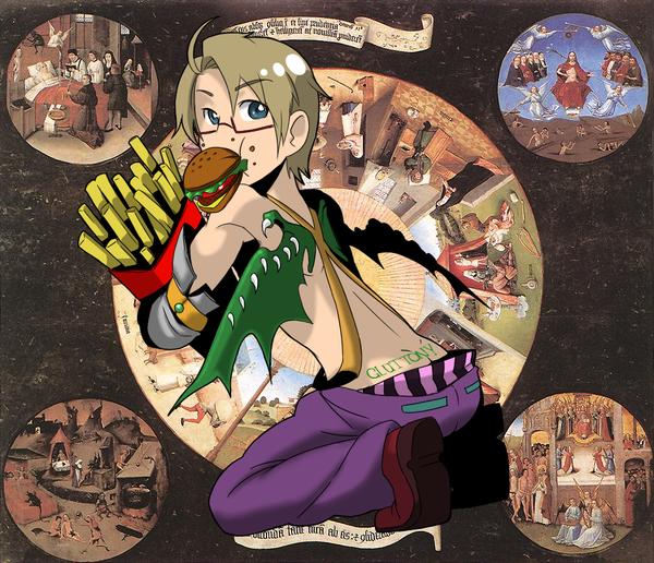 APH Sins: Gluttony by Akagumo