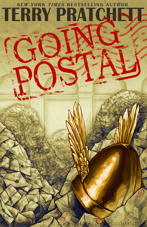 Going Postal book cover by Jay-the-Great