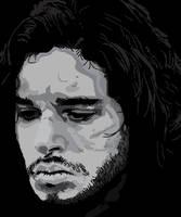 Jon Snow by Xena-Heart