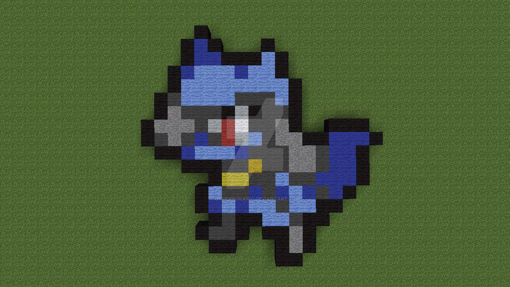 Pixelart02riolu Sprite By Gamerrukario On Deviantart