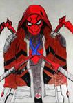Crimson Arachnid (Red Hood + Superior Spider-Man)