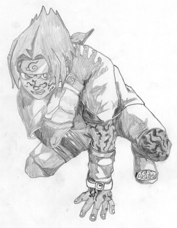 Curse Mark Sasuke by Sharingan-Kyuubi on DeviantArt