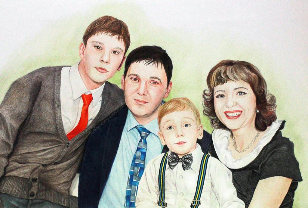 Family by LugaruGrey