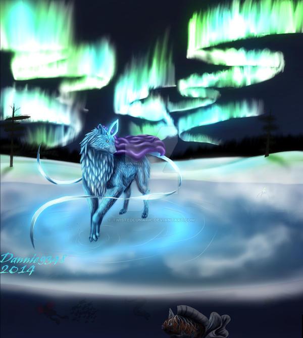 light of the nothern goddess + SPEEDPAINT by TwistedLunatic