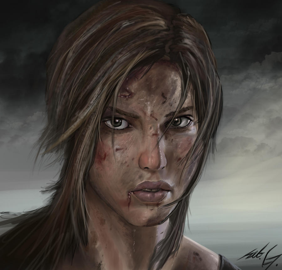 Tomb Raider by Mihawq