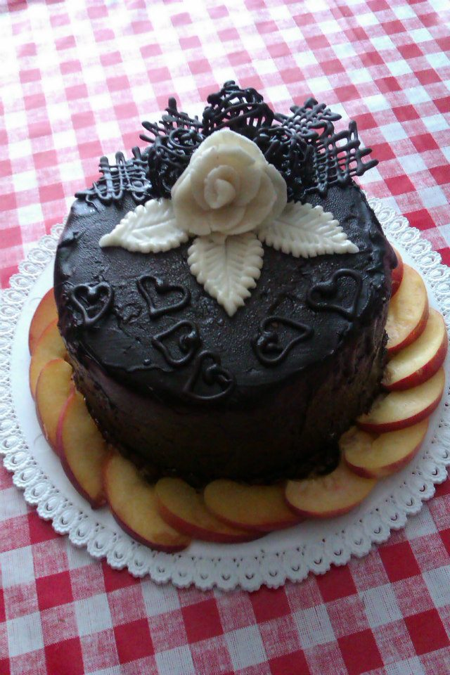 Checkered cake decoration by andorea06 on deviantart for Art cake decoration