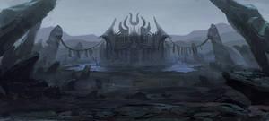 Evil Castle by MCfrog