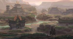 kind of eastern village