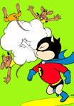 Superkat Funny Komiks